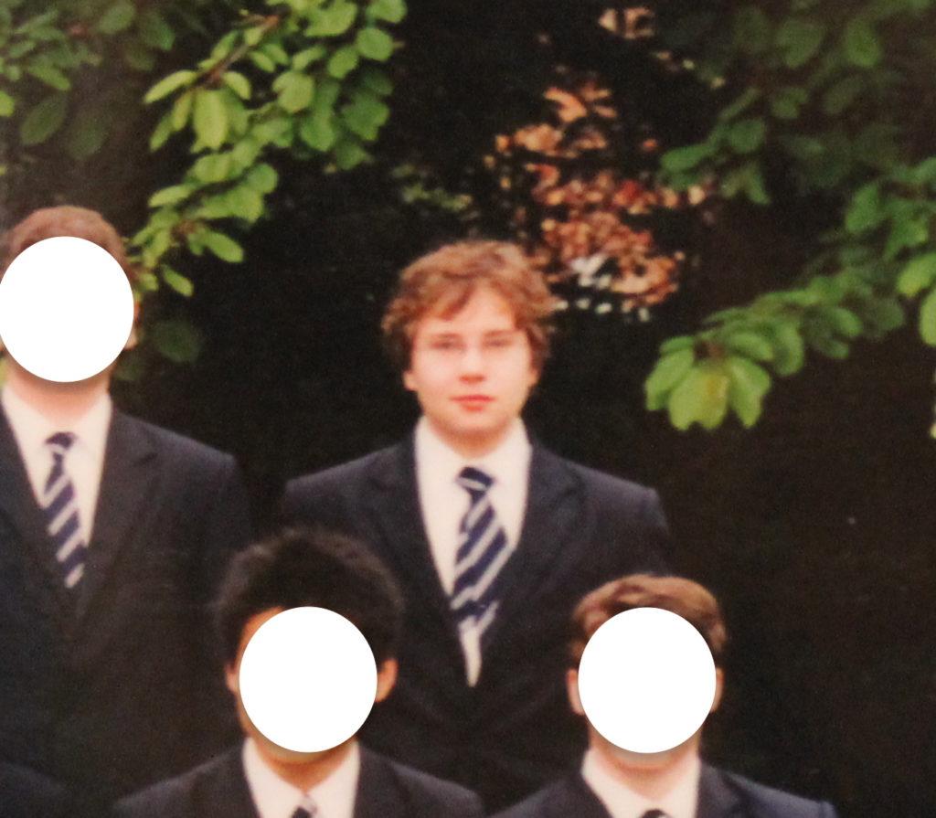 Mit 15 in der Bedford School