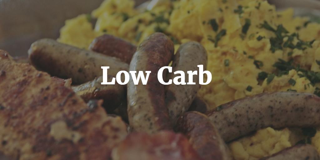 Eiweißquellen für eine Low Carb Diät