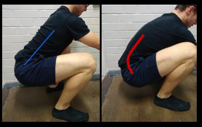 butt wink vs gerade rucc88cken in der kniebeuge e1511819967977 - Butt-Wink beheben: So hälst du deinen Rücken gerade bei Kniebeugen
