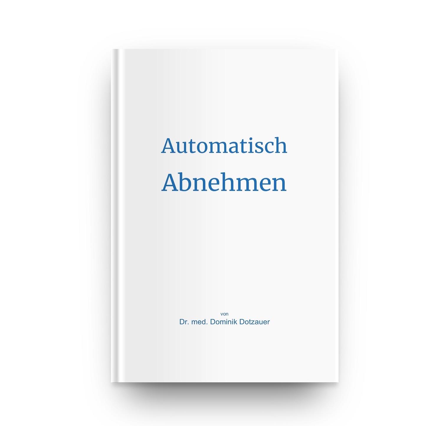 Automatisch abnehmen Buchcover frontal kleiner